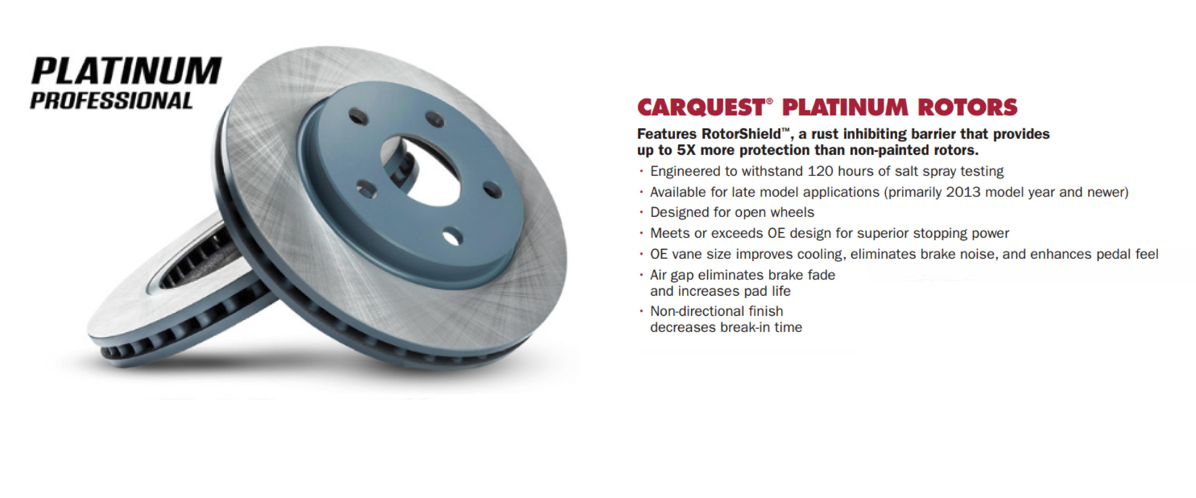 platinum rotors